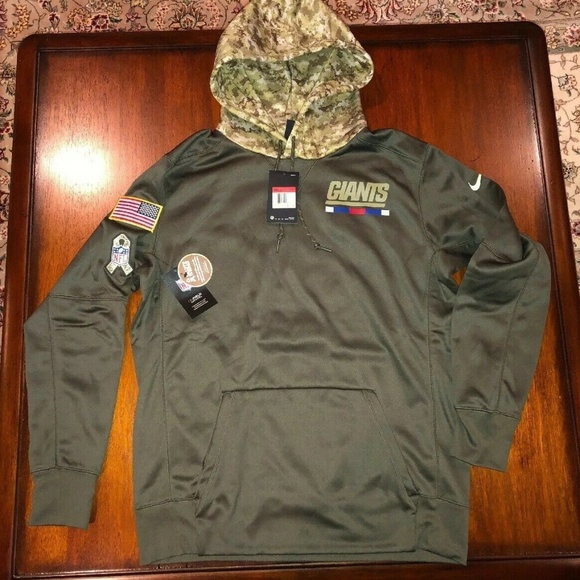 info for efbef 7965a Nike New York Giants Salute to service Hoodie NWT